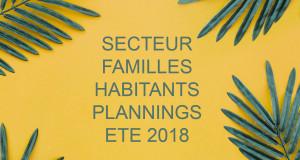 PLANING FAMILLES HABITANTS