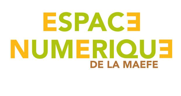 ESPACE NUMERIQUE MAEFE couverture site et logo com 2