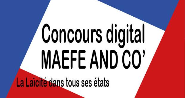 Concours Digital - vitrine page